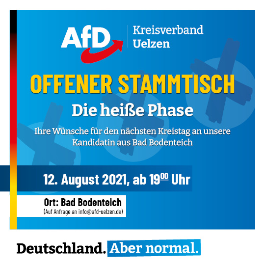 You are currently viewing Offener Stammtisch im August 2021