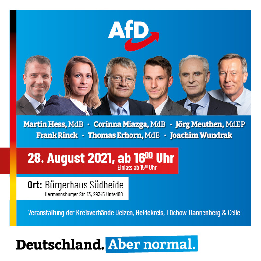 You are currently viewing Wahlkampfveranstaltung am 28.08.2021